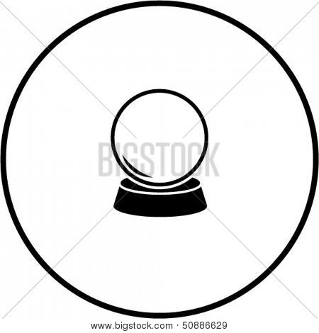crystal fortune ball symbol