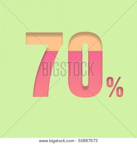 Seventy percent symbol