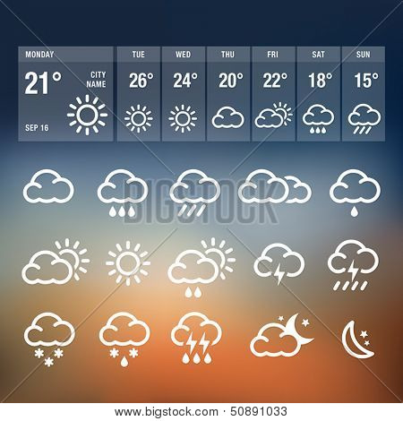 Weather Icons