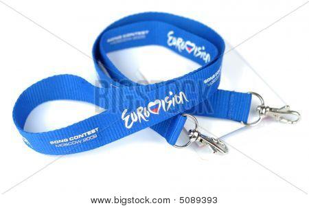 Eurovision Name Tag