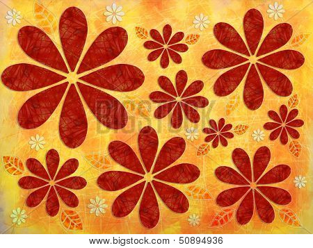 Floral Fall Pattern