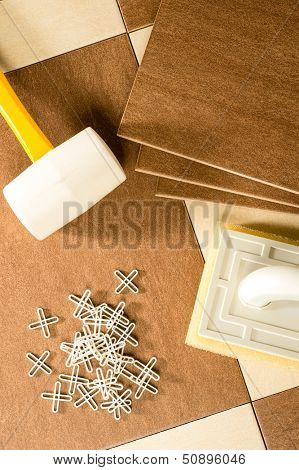 Flooring tools tiles, tile spacers