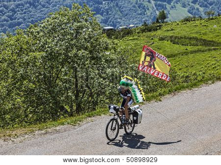 Fan Of The Cyclist Valverde