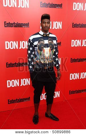 NEW YORK-SEP 12: NBA player Iman Shumpert attends the