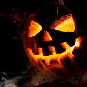picture of jack o lanterns  - Halloween  - JPG