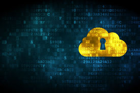 picture of keyholes  - Cloud computing concept - JPG