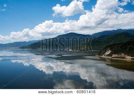 Napa Lake In Shangri-la, Yunnan Province China.