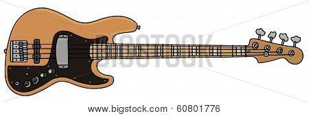 Bass guitar
