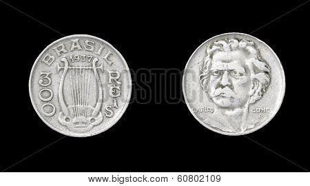 Coin of Brazil
