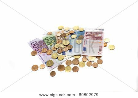 Money, Notes And The Trifle Scattered