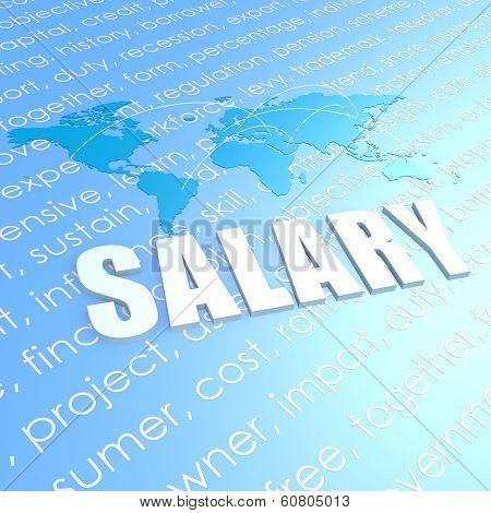 Salary World Map