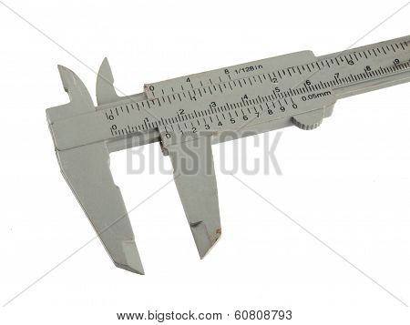 Close Up Photo Of A Micrometer