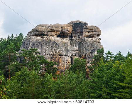 Sandstone Formations In Bohemian Paradise