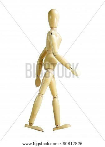 Walking Wood Puppet