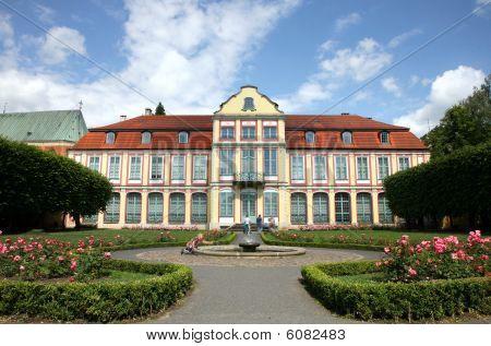 Gdansk Oliwa ( Oliva ) in Poland. Residence of Abbots.