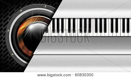 Music Metal Business Card