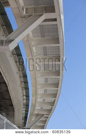 People Mover Tracks In Venice