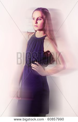 Girl in Blur