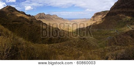 Vulcan Moutains Panorama