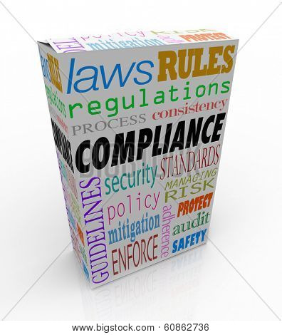 Compliance Product Box Package Follow Safety Regulations Rules