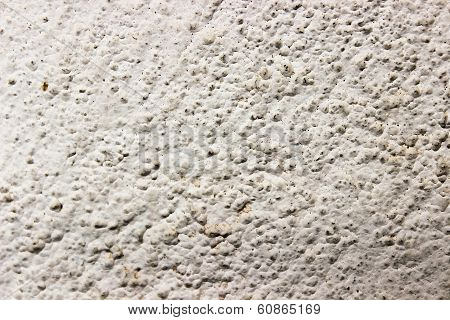 Close up image of wall with fine pores
