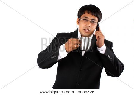 Businessman Communication