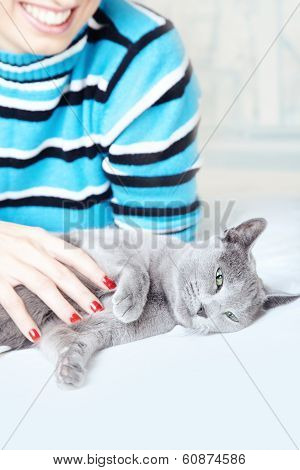 Pampering Cat