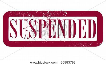 Suspended Stamp