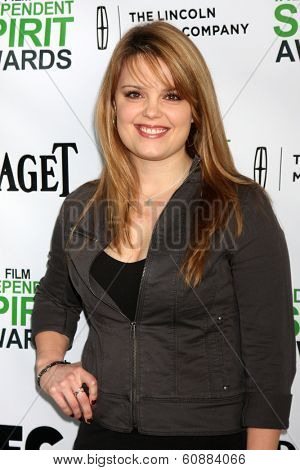 LOS ANGELES - JAN 11: Kimberly J Brown at the 2014 Film Independent Spirit Awards Nominee Brunch at Boa on January 11, 2014 in West Hollywood, CA