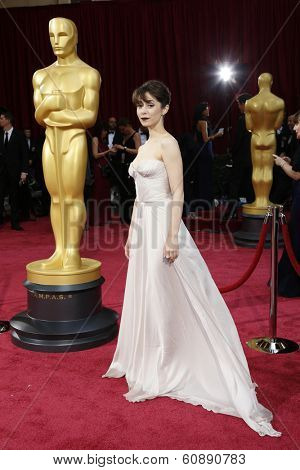 LOS ANGELES - MAR 2:  Cristin Milioti at the 86th Academy Awards at Dolby Theater, Hollywood & Highland on March 2, 2014 in Los Angeles, CA
