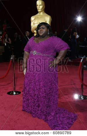 LOS ANGELES - MAR 2:  Gabourey Sidibe at the 86th Academy Awards at Dolby Theater, Hollywood & Highland on March 2, 2014 in Los Angeles, CA