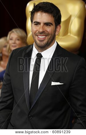 LOS ANGELES - MAR 2:  Eli Roth at the 86th Academy Awards at Dolby Theater, Hollywood & Highland on March 2, 2014 in Los Angeles, CA