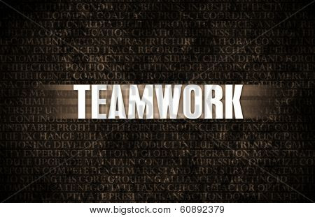 Teamwork in Business as Motivation in Stone Wall