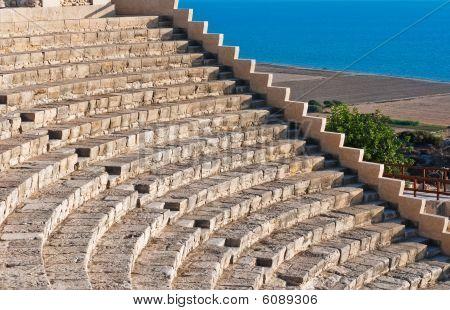 ancient amphitheater at Kourion, Cyrpus
