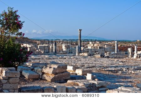 ruins of ancient city of Kourion, Cyprus