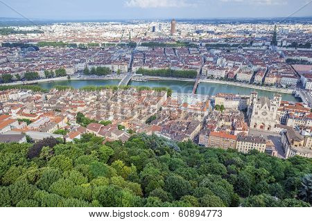 Aerial View At Lyon