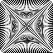 picture of hypnotic  - Black and White Hypnotic Background - JPG