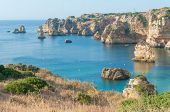 picture of lagos  - Dona Ana beach at Lagos - JPG