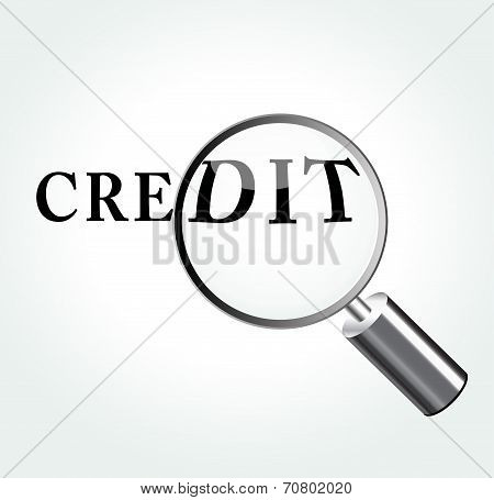Credit Concept Illustration