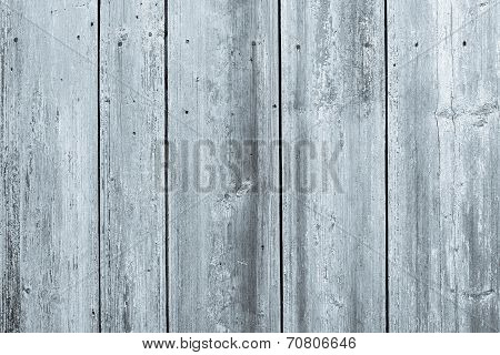 Surface Of Old Wooden Boards Silvery Color