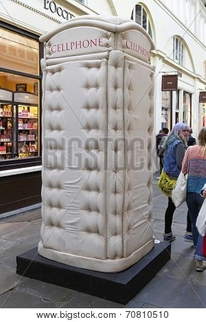 Padded Phone Box