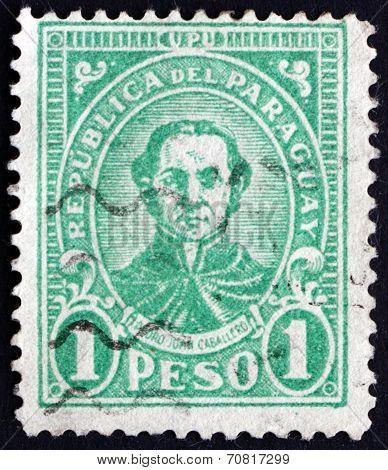 Postage Stamp Paraguay 1927 Pedro Juan Caballero