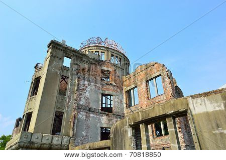 Atomic Dome In Hiroshima, Memorial To The First City To Suffer A Nuclear Attack