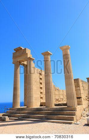 Ruins Of Ancient Templ