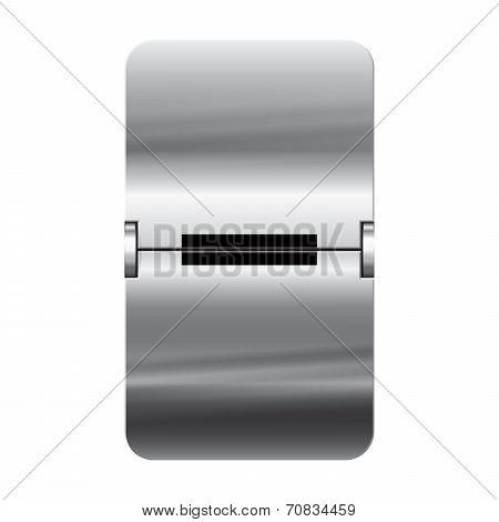 Silver Flipboard Letter - Departure Board - Minus