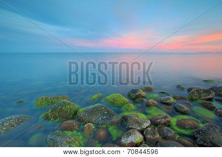 Sunset at Moelen