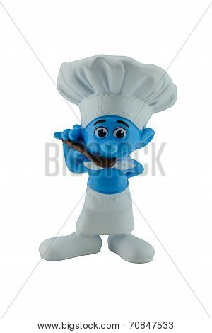 Smurf Cook Character