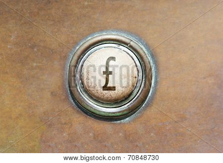 Old Button - British Pound