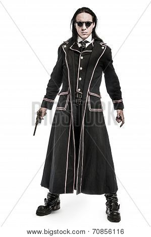 Steampunk Victorian Costume Character