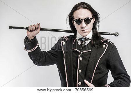 Steampunk Gentlemen Costume Drama Character